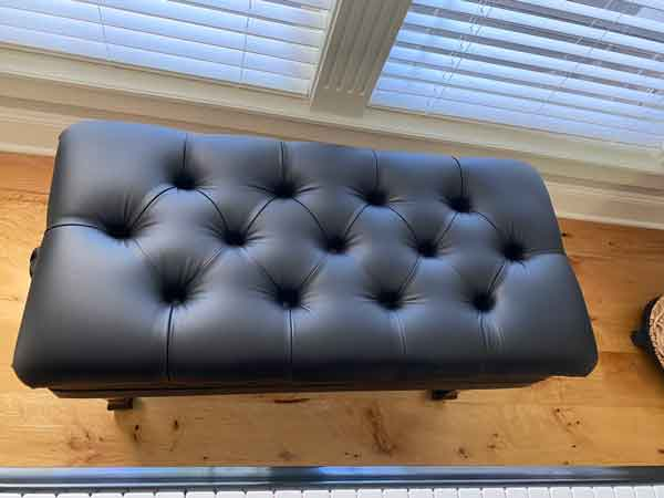tufted piano benches