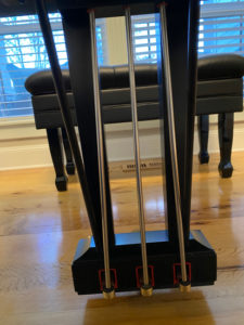 piano pedal rods