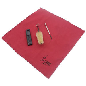Mouthpiece Brush, Screwdriver, & Cleaning Cloth