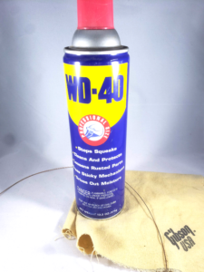 WD-40 for guitar strings?