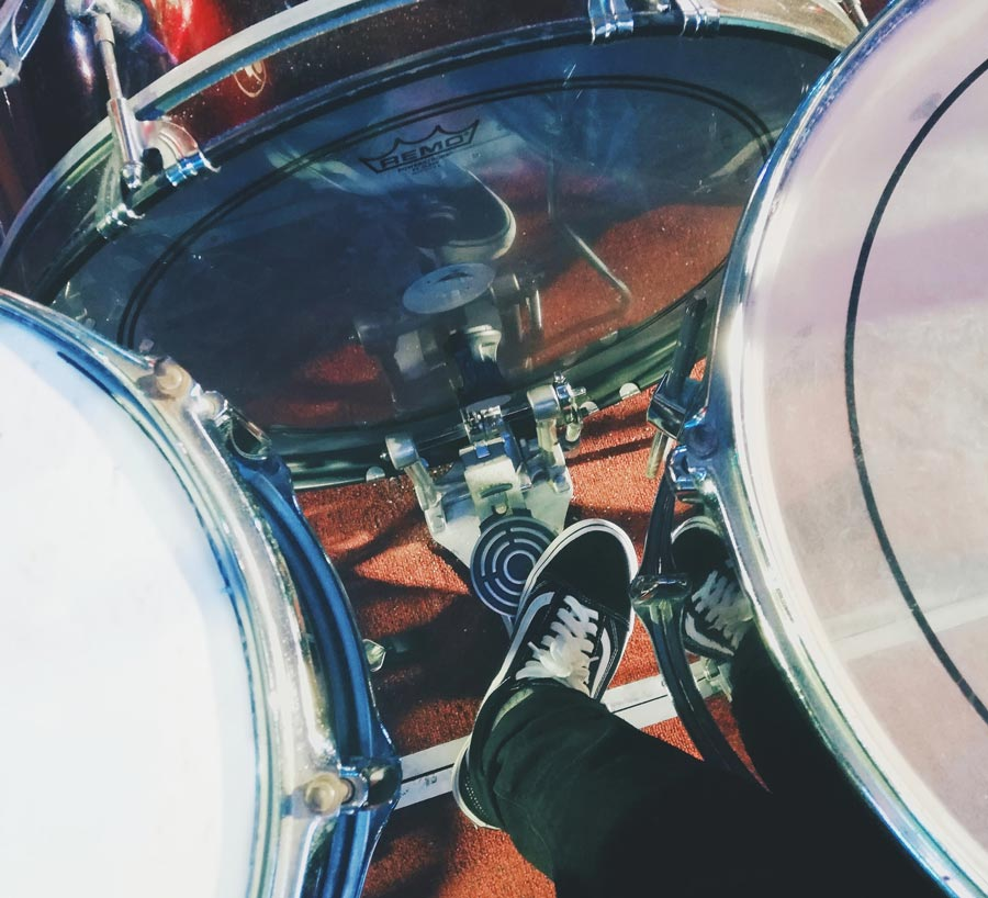 cleaning kick drum pedal
