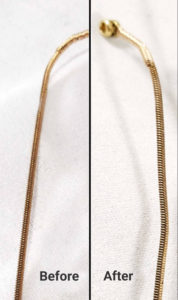 Clean Guitar Strings Before & After