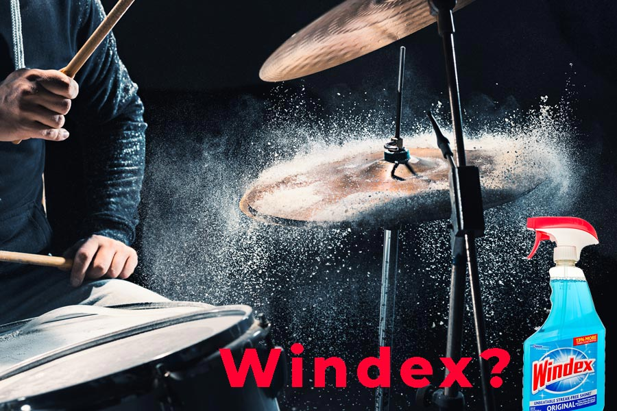 windex for drums
