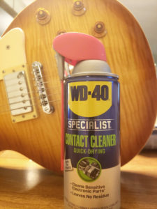 Electric guitar - WD-40