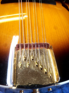 Mandolin tail piece