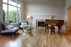 baby grand in large room