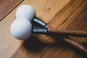polymer mallets for playing the xylophone or glockenspiel
