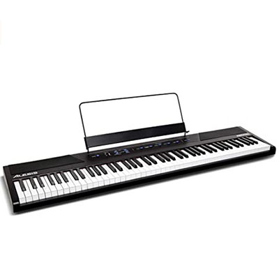 88-key weighted hammer digital keyboard
