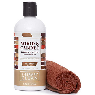 wood cleaner and polish kit