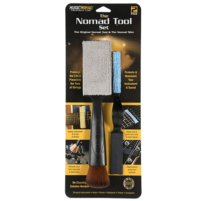 nomad tool for cleaning strings both sides